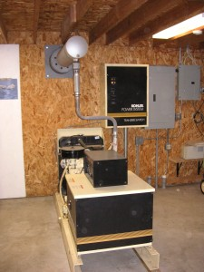 Whole House Backup Generator With Automatic Transfer Switch Kohler 20KW