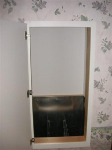Laundry Chute Door - Door Open