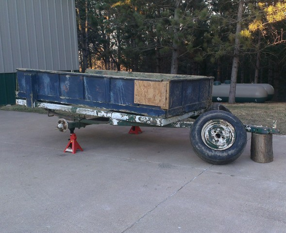 homestead utility trailer